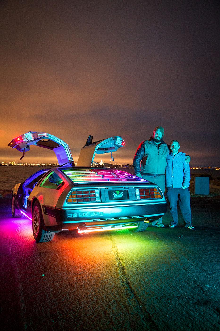 Gumball 3000 & The DMC DeLorean