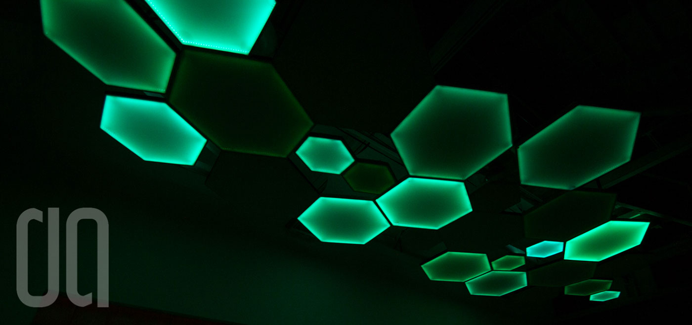 Hexagon Lighting Tiles