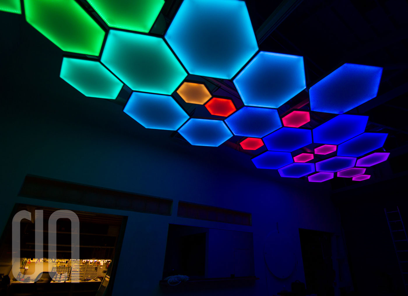 Luma Hex Light Fixtures Digital Ambiance