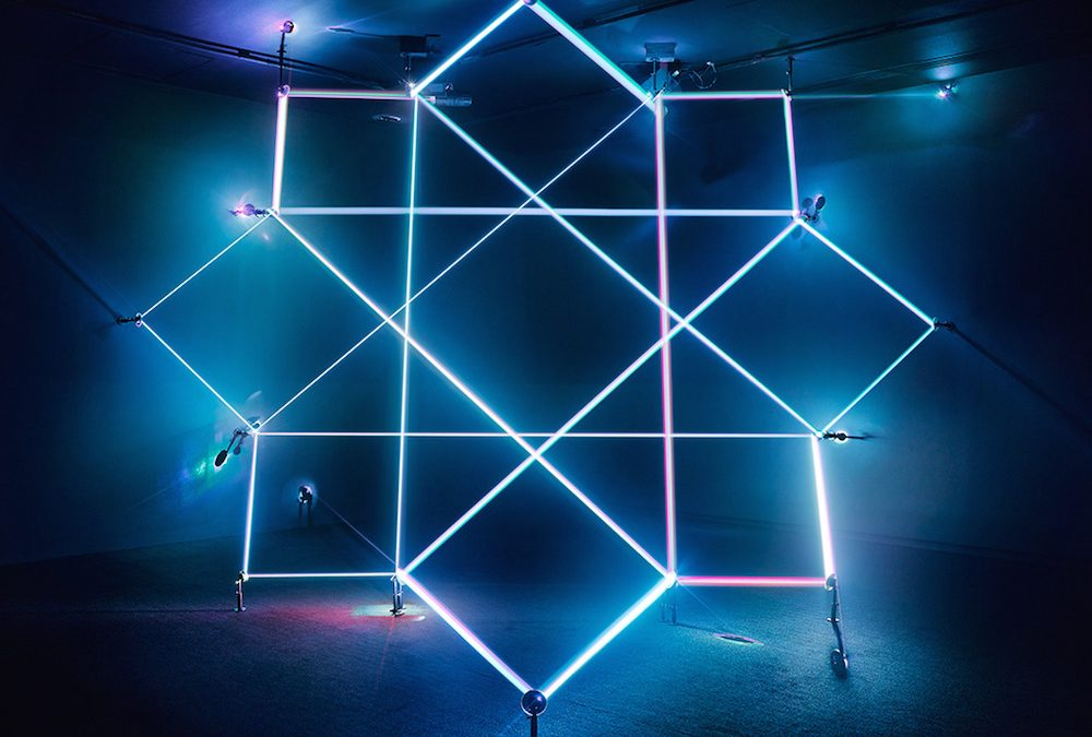 Geometric Light Sculptures