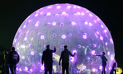 'Sonic Light Bubble' by ENESS