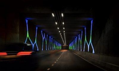 'Dolmen Light Tunnel' by Titia Ex