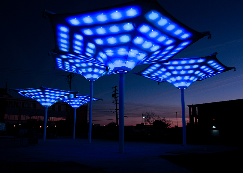 Cultural Arts Park Interactive Lighting