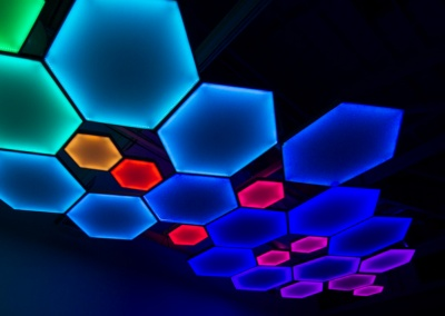 Luma-Hex Light Fixtures